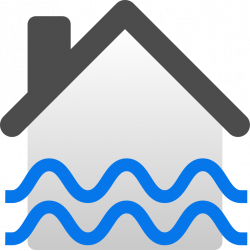 File:Flooded house icon.svg - Wikimedia Commons