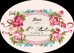 my design / loral label | Decoupage Flowers | Pinterest | Decoupage ...