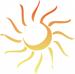 Sunshine clipart light ray - Pencil and in color sunshine clipart ...