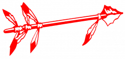 Red Spear Cut | Free Images at Clker.com - vector clip art online ...