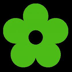 Green Flower Clipart