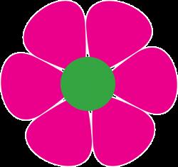 60s Flower Clipart