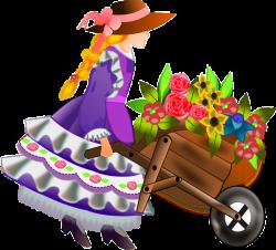 Free Image on Pixabay - Flower Girl, Girl, Woman, Flowers | Free ...