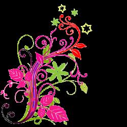 Floral design png » PNG Image