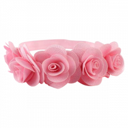 Girls Floral Headband – Mini Sesame
