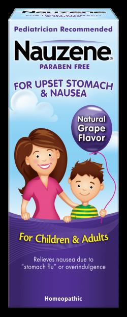 Nauzene® Kids Gentle Relief from Nausea & Upset Stomach