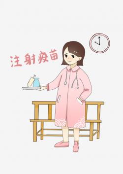 Nurse Doctors Female Doctor Winter Flu Prevention ...