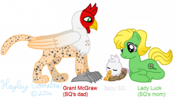 Baby Silver Quill and Parents by Ripple-Effect-MLP on DeviantArt