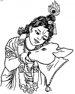 Enchanting Lord Krishna Coloring Pages Ideas - Coloring Paper ...