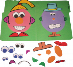 Click here to download the Funny Faces File Folder Game for free ...