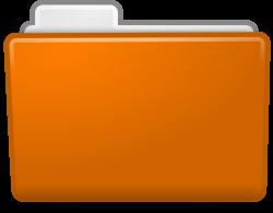 Best HD Orange Folder Icon Image » Free Clip Art Designs, Icons, and ...