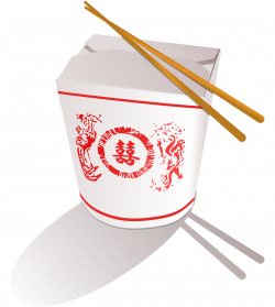 Clipart - Chinese Fast Food