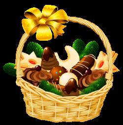 Holiday Christmas Basket PNG Picture | Клипарты Новогодние ...