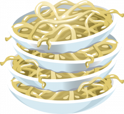 Plain Noodles Clip Art at Clker.com - vector clip art online ...