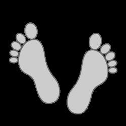 Footprints | leg irregularities | legs | icons | logos | marks ...