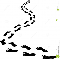 Footprints In The Sand Drawing | Free download best ...