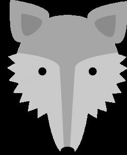Fox Face Clipart - ClipartBlack.com
