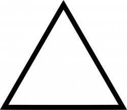 Triangle Svg Png Icon Free Download (#448759) - OnlineWebFonts.COM