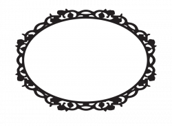 Oval Ornamental Frame by snicklefritz-stock on DeviantArt