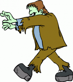 Halloween Frankenstein Clipart Kid 2