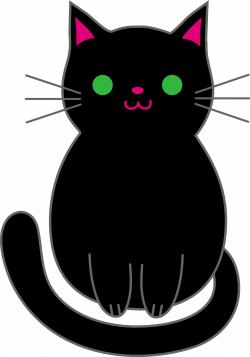 Kitten Clipart Free - Cliparts.co   Love black cats <3   Pinterest ...