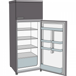 28+ Collection of Open Refrigerator Clipart | High quality, free ...