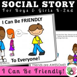 SOCIAL STORY~ I Can Be Friendly, To Everyone! – Socially ...