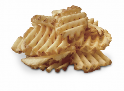 Waffle Fries Png - Chick Fil A Potatoes Free PNG Images ...