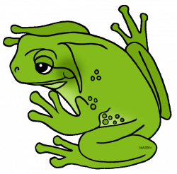 United States Clip Art by Phillip Martin, Louisiana State Amphibian ...