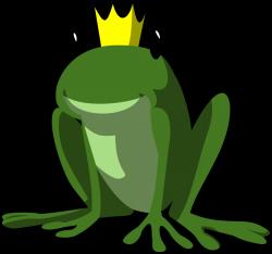 clipartist.net » Clip Art » frog prince normal art clipartist.net ...