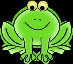 Frog 9 Clip Art at Clker.com - vector clip art online, royalty free ...