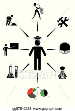 Vector Art - Career choice options and future. EPS clipart ...