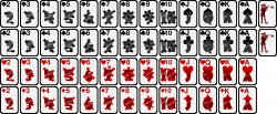 Clipart - Deck of Playing Cards