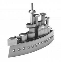 Ship game piece from Monopoly #party #theme #event   Theme: Monopoly ...