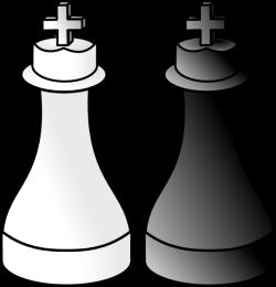 Black And White Kings Clip Art at Clker.com - vector clip art online ...