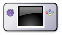 Handheld game console clipart - Clipground
