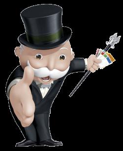 Mr Monopoly transparent PNG - StickPNG