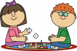 Kids Board Game Clip Art -Lot's of clipart