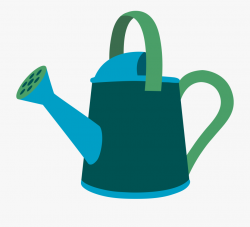 Watering Can Gardening Tools Clipart - Garden Watering Can ...