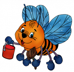 пчелки   Bees, Bee clipart and Snail