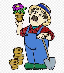 Clip Art Gardening Gardener GIF - Commun #452111 - PNG ...