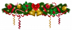 Christmas Deco Garland PNG Clip Art Image | Gallery Yopriceville ...