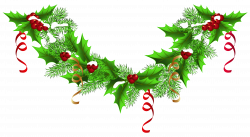 Christmas Pine Garland PNG Clip-Art Image | Gallery Yopriceville ...
