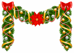 Best Of Christmas Garland Clipart Design - Digital Clipart Collection