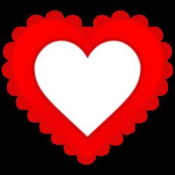 Empty Heart Clip Art Empty heart 256 image - vector | Empty Heart ...