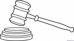 28+ Collection of Gavel Clipart | High quality, free cliparts ...