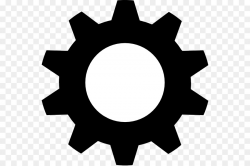 Black gear Clip art - Motorcycle Gears Cliparts png download - 600 ...