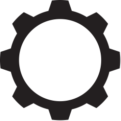 File:Gear shape black 11.svg - Wikimedia Commons