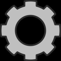 Gear2 Clip Art at Clker.com - vector clip art online, royalty free ...