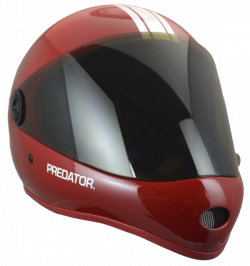 PREDATOR HELMETS - 2018 DH6 | Fullface downhill skateboard helmets